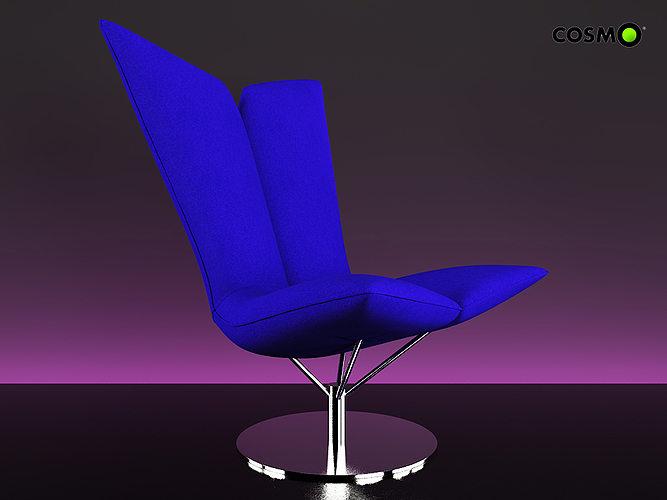 armchair angel 3d model max 1