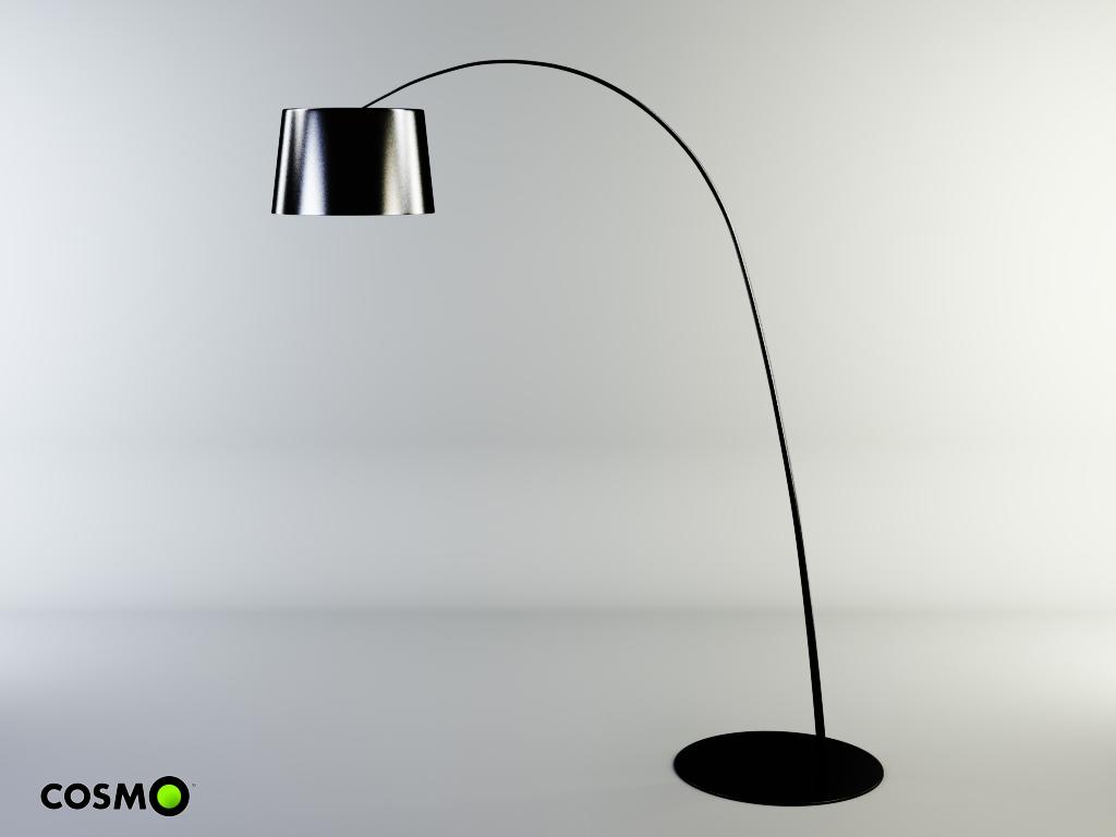 Floor lamp twiggy 3d model max cgtradercom for Floor lamp 3ds max free model