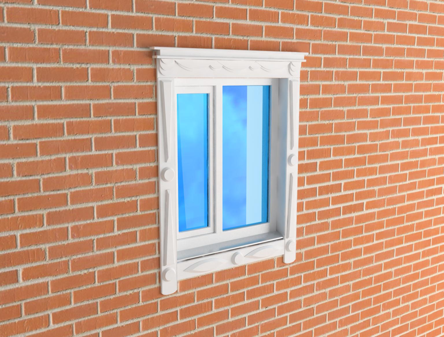 Jamb the window 3d model 3ds for Window models for house photos