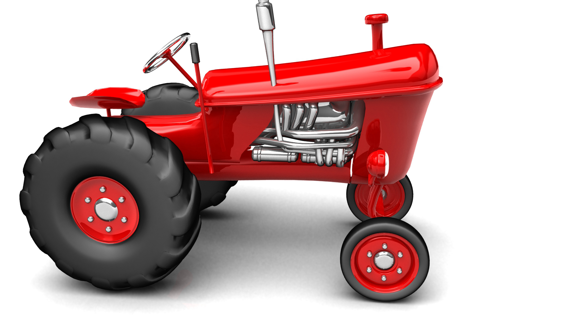 vintage tractor clipart - photo #38