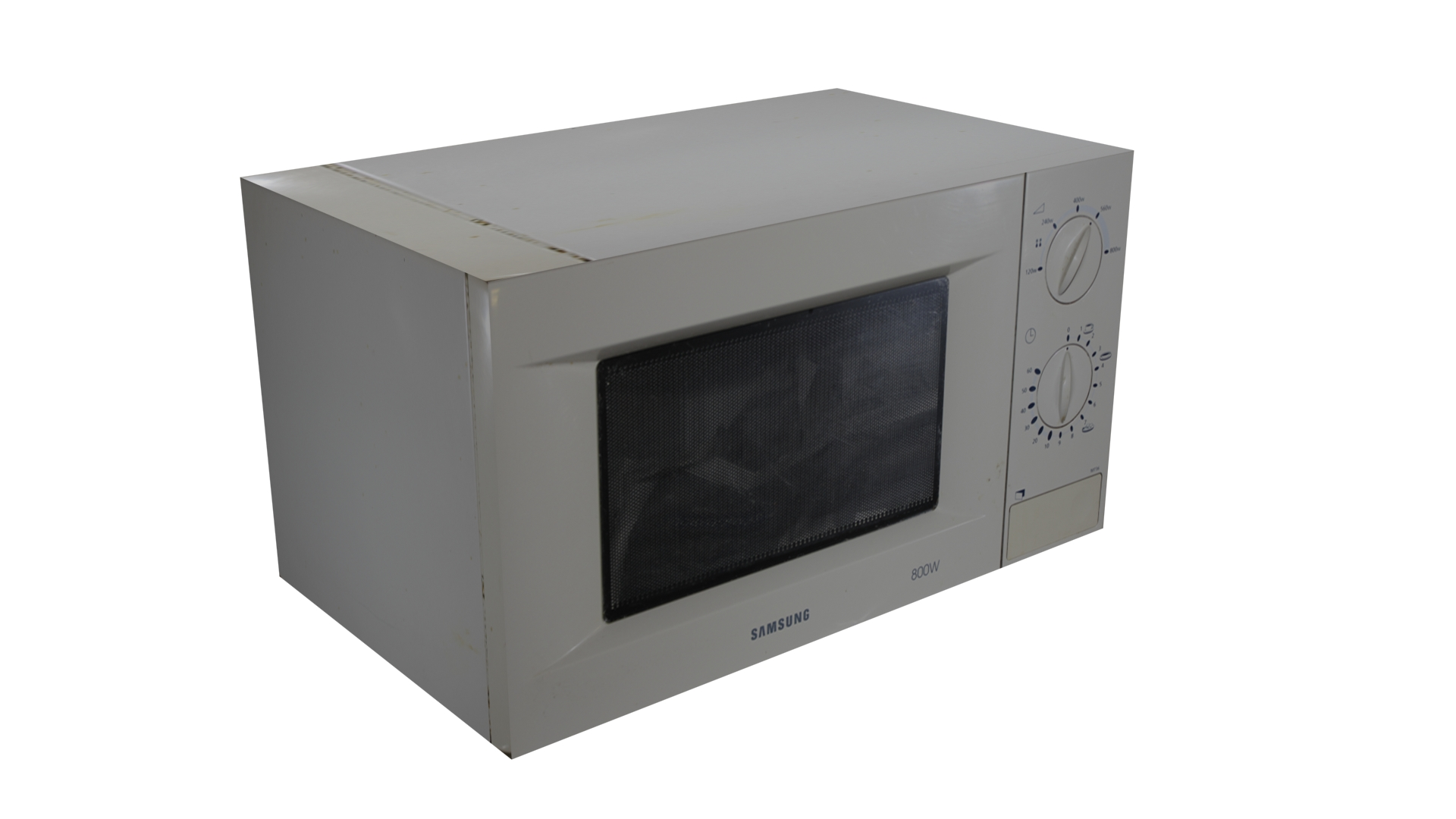 Microwaves Low Poly
