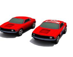 Camaro - set 1 3D model