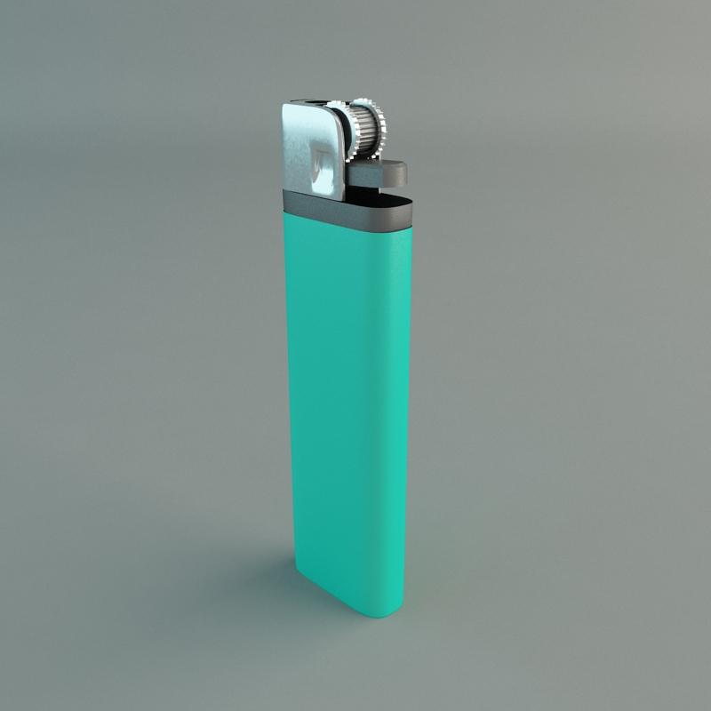 Cigarette Lighter 3d Model Max Cgtrader Com