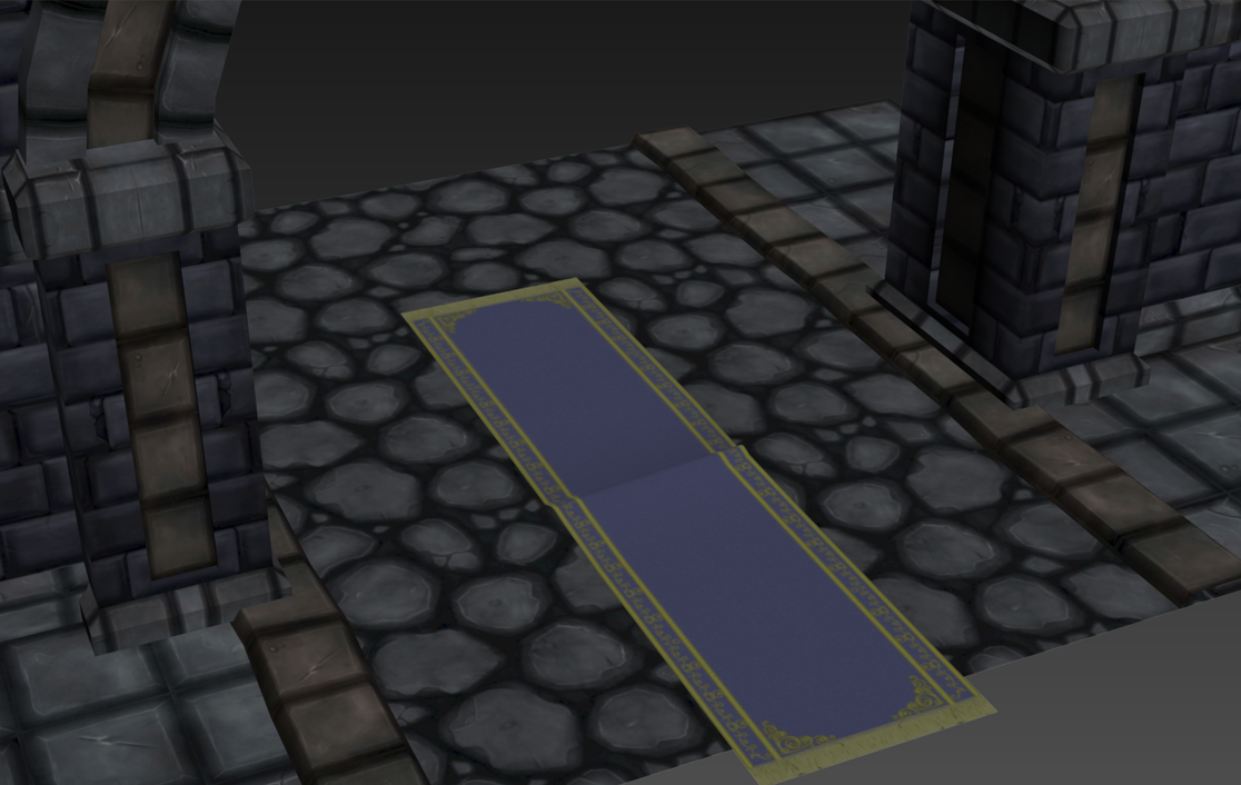 Dungeon Collection - Tile Stone Floor 3D Model Game ready ... on Tile Models  id=60068