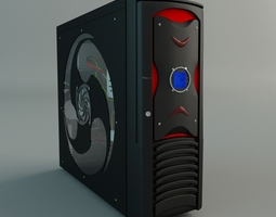 desktop pc 3d model max