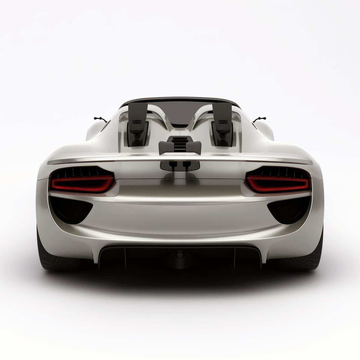 porsche spyder 918 car racing 3d models. Black Bedroom Furniture Sets. Home Design Ideas