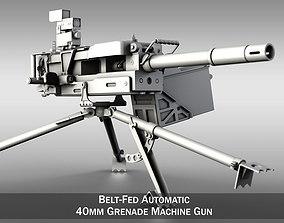 3D 40mm Grenade Machine Gun