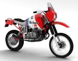 BMW GS980R Dakar 1985 3D Model