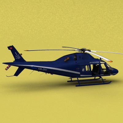 AW-119 Air Engiadina3D model