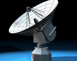 antenna satellite 3d model