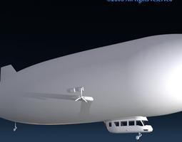 3D model Zeppelin
