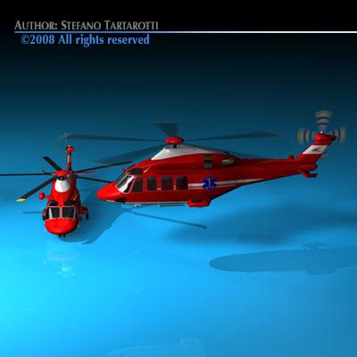 AW139 air ambulance