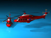 AW139 air ambulance 3D Model
