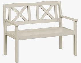 Solliden bench 3D