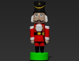 3D print model Nutcracker Soldier