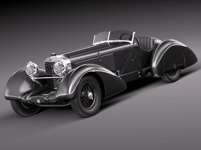Mercedes-Benz 710 SSK Trossi Roadster 1930