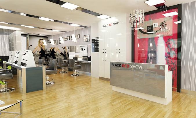 Barber Shop or Beauty Salon 3D model