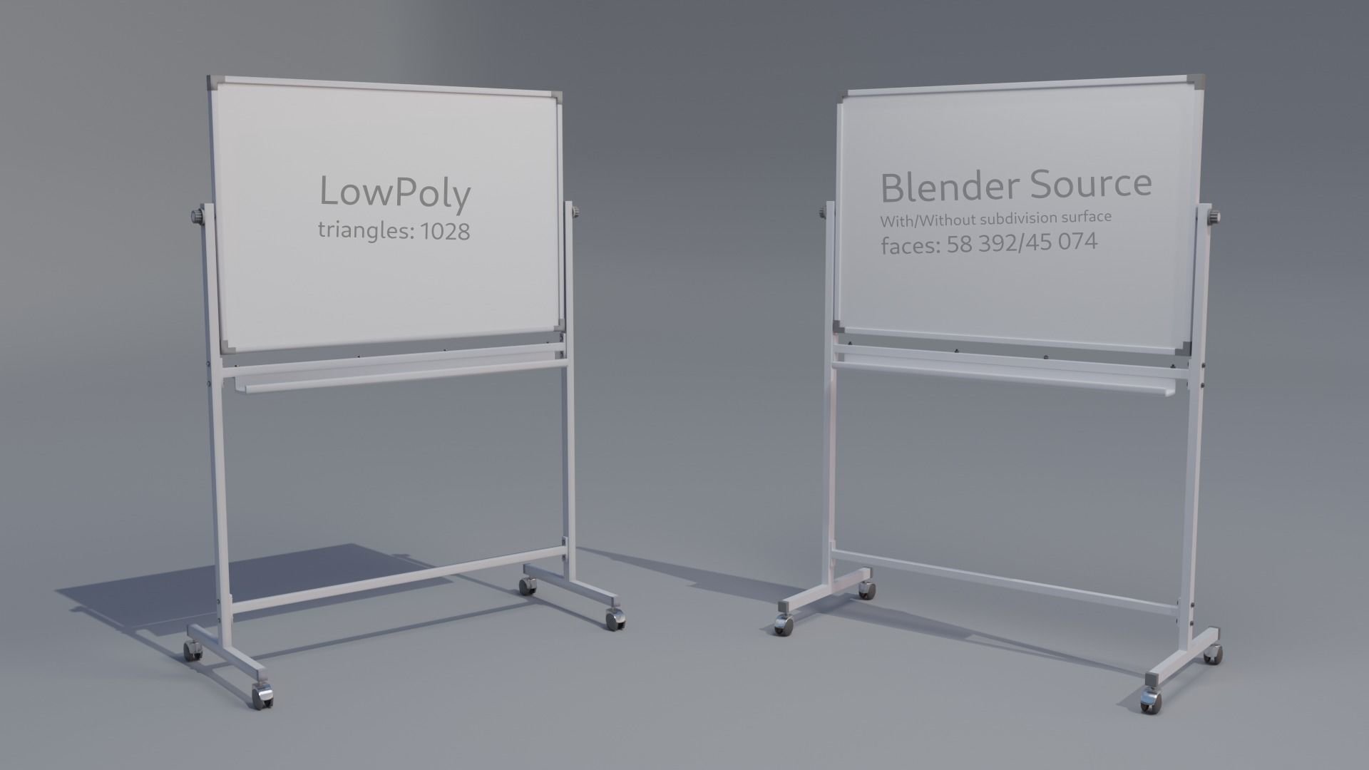 whiteboard for school or office