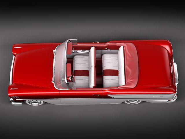 chevrolet bel air 1958 convertible 3d model max obj 3ds fbx lwo lw lws 8