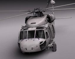 Sikorsky UH-60a Black Hawk 3D Model