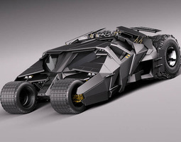 Batmobile 2005 3D Model