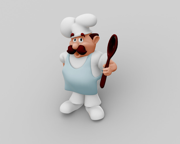 Chef Character3D model