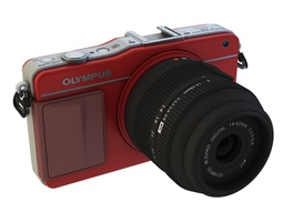 Olympus E-PM2 3D Model