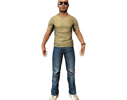 Casual Male 3D model