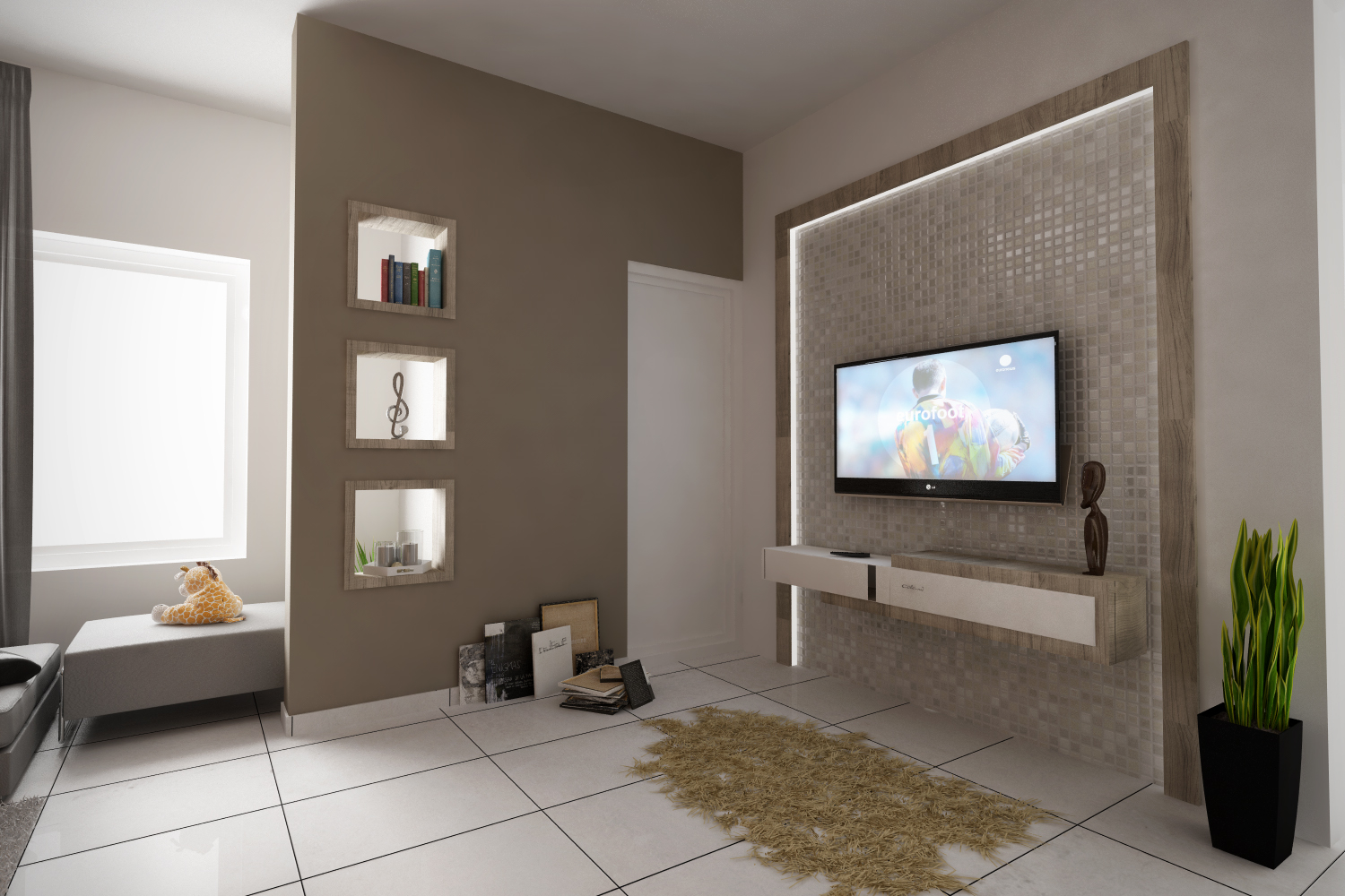 C4d Living Room Top View 3d Model C4d