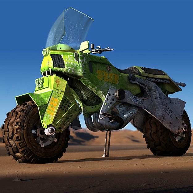 Dakar Rally Bike 3d Model Cgtrader