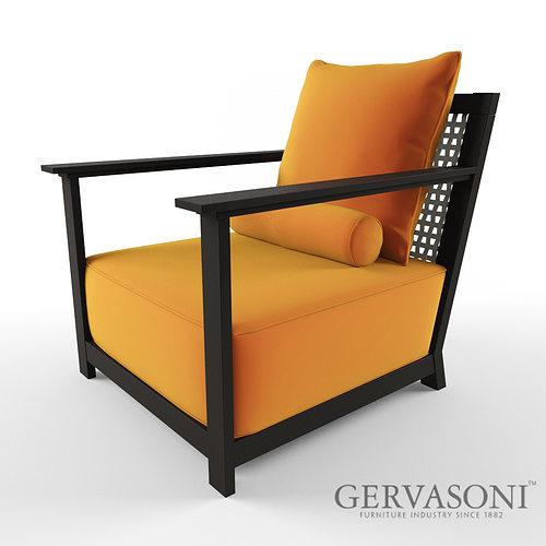 3d model gervasoni otto cgtrader for Gervasoni furniture