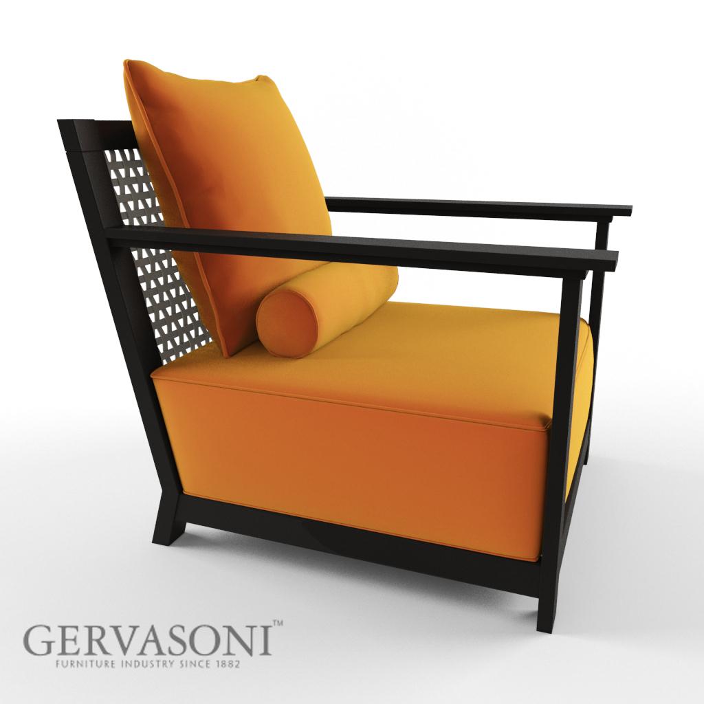 gervasoni otto 3d model max. Black Bedroom Furniture Sets. Home Design Ideas