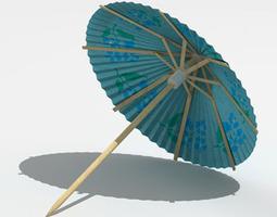Umbrella drinks 3D