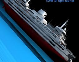 ferryboat 3d model