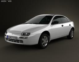 3D model Mazda 323 Familia 1994
