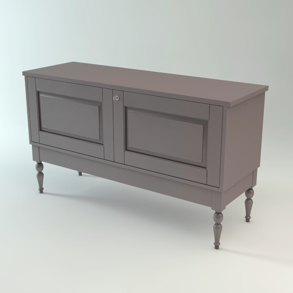 Ikea isala sideboard 3d models for Sideboard ikea