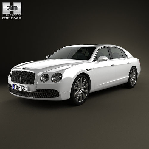 Bentley 2014: Bentley Flying Spur 2014 3D