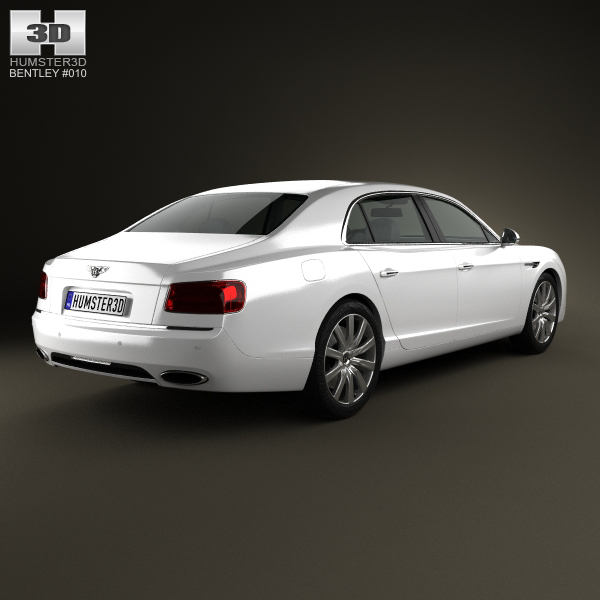 Bentley Flying Spur 2014 3D Model .max .obj .3ds .fbx .c4d