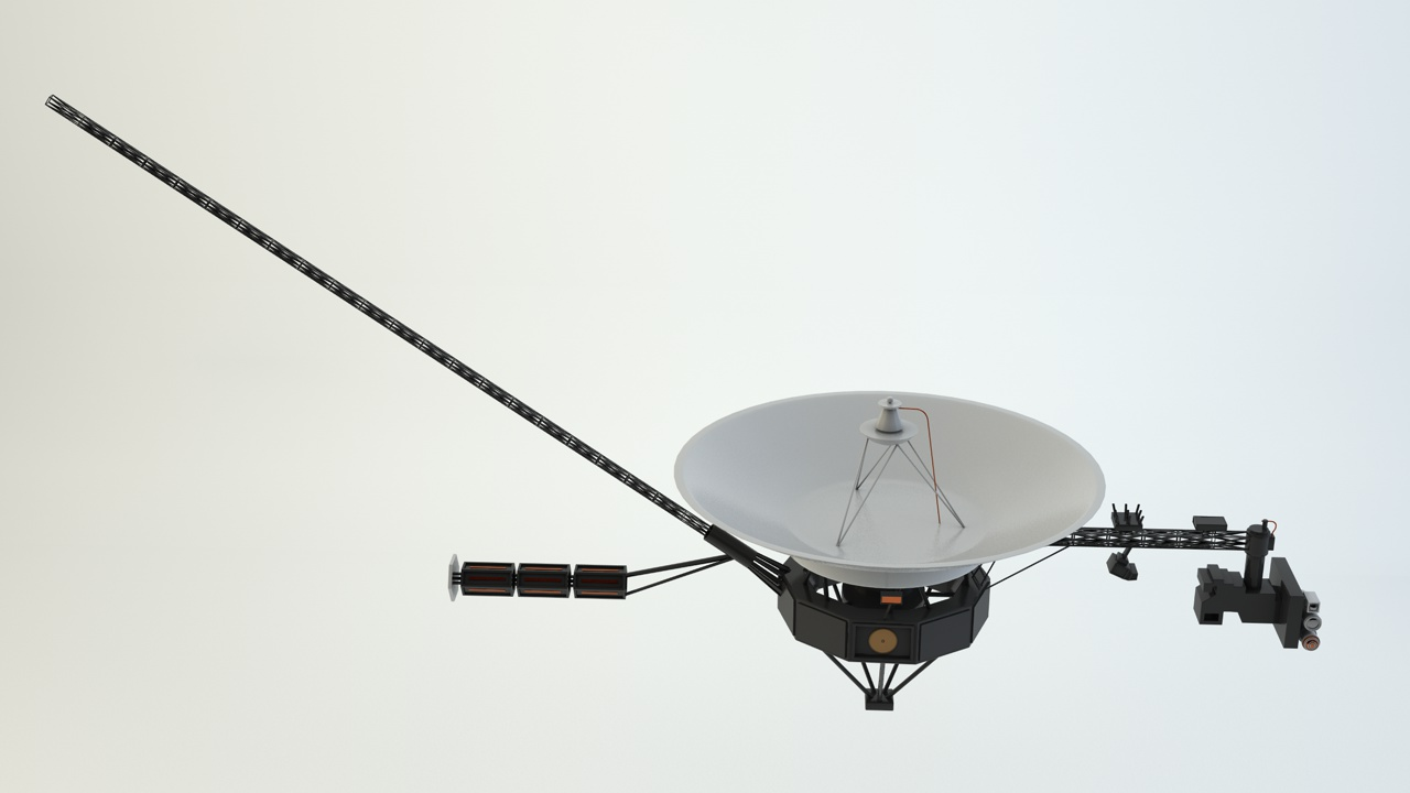 voyager 1 model - photo #37