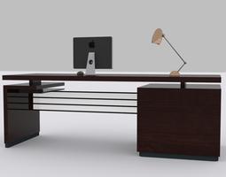 3D asset Computer Desk