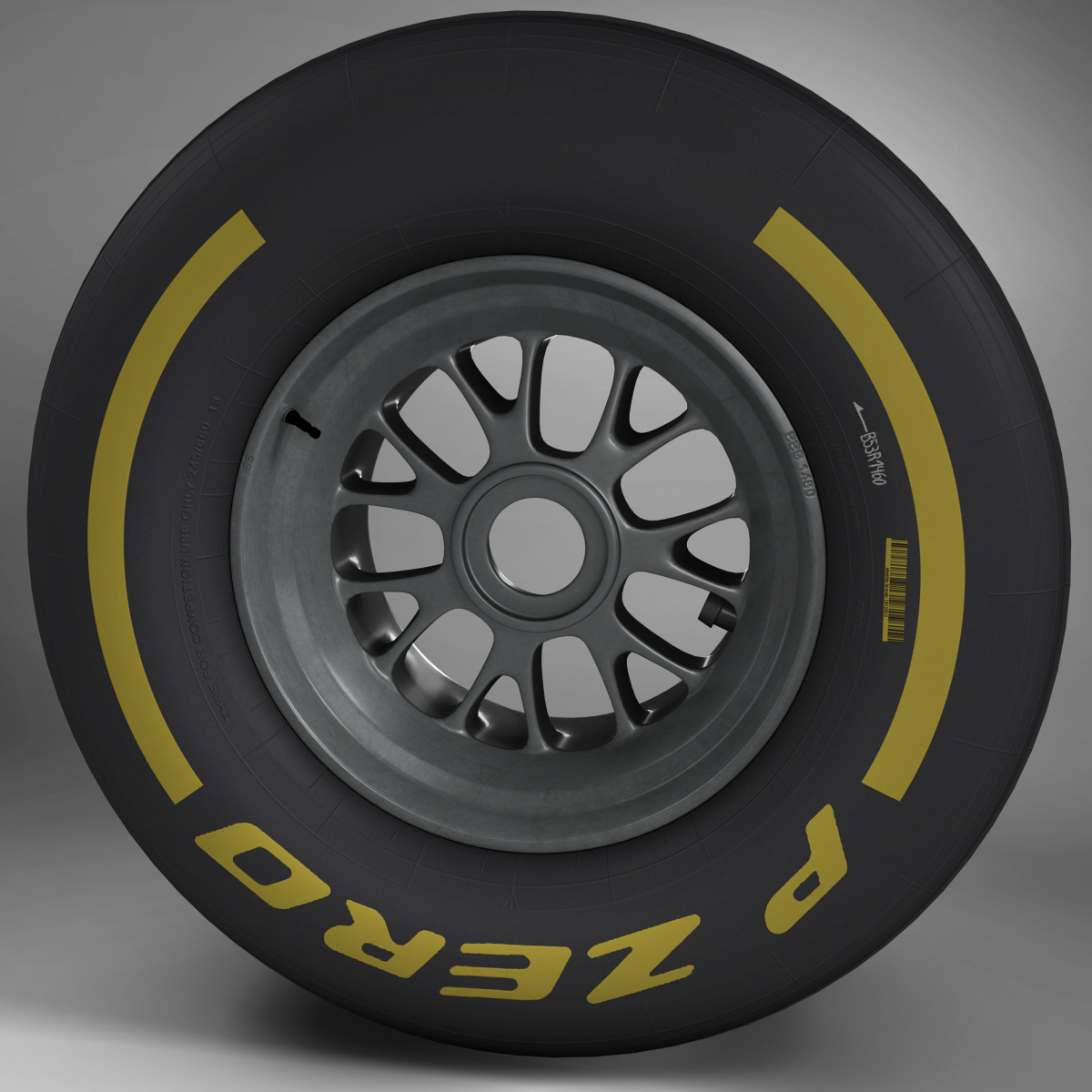 F1 tyre soft front