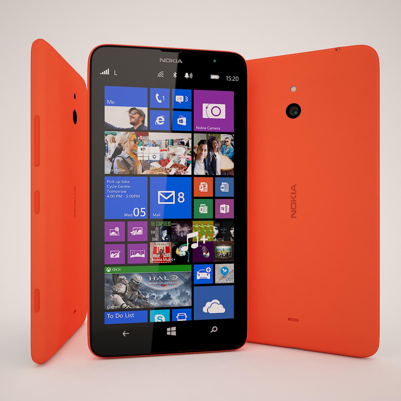 Nokia Lumia 1320 Red 3...