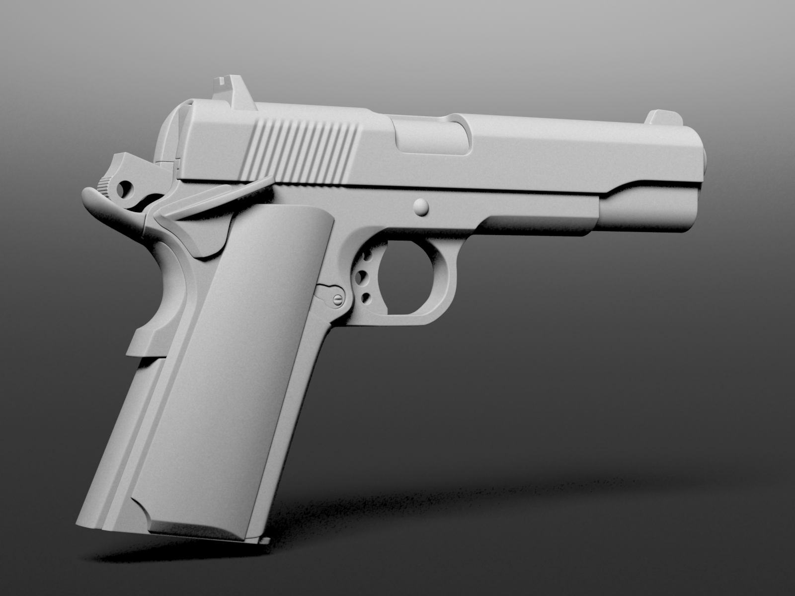 3d model gun free download