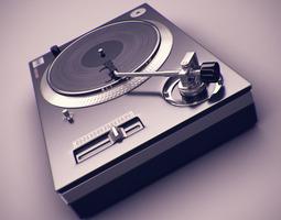 DJ Deck 3D Model
