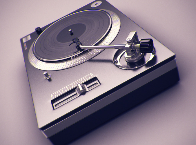 turntable 3D Models