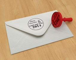 Grid_stamp_merry_christmas_and_happy_new_year_2014_3d_model_obj_stl_aa6499b3-78a2-4552-9d90-ead84052d95e