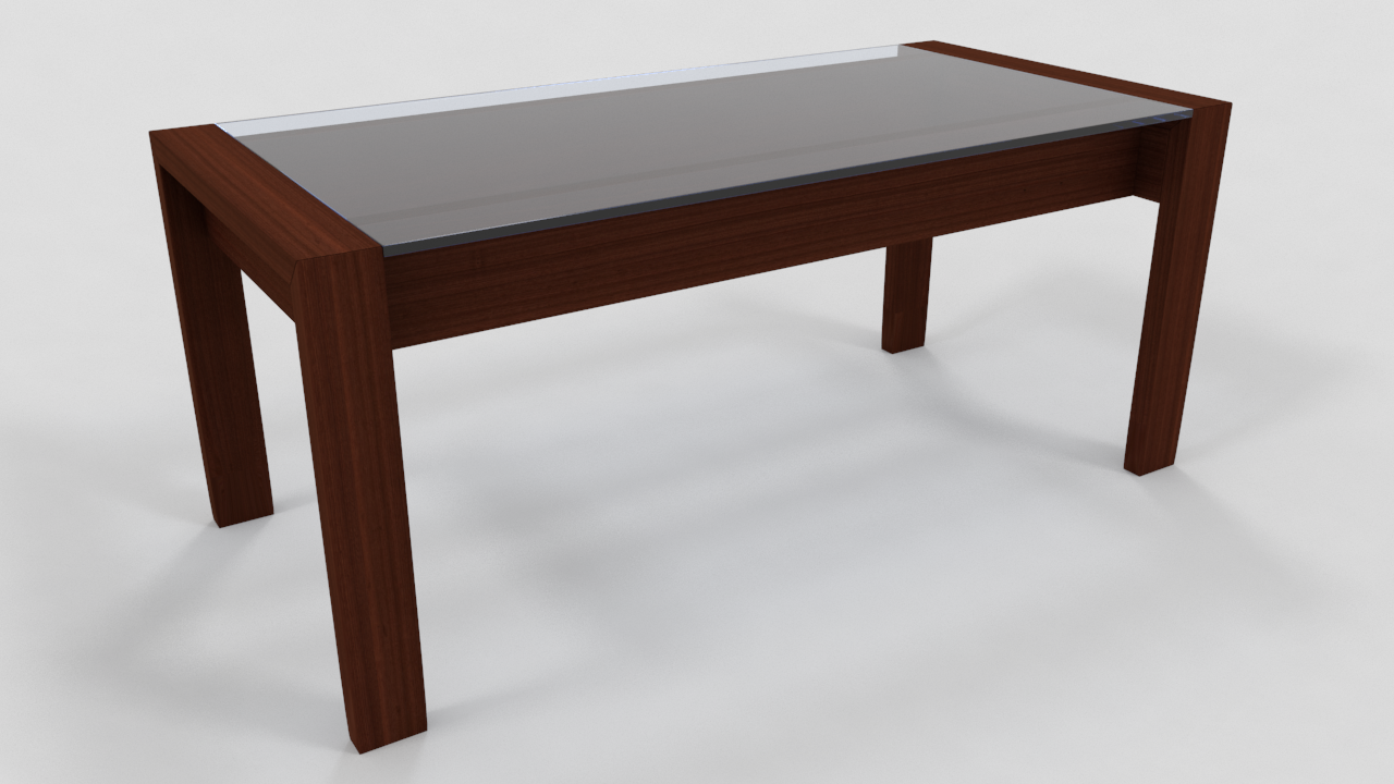 Conference table 3d model max obj 3ds fbx ma mb for Table 3d model