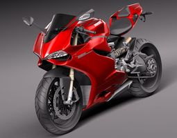 Ducati 1199 Panigale 3D Model