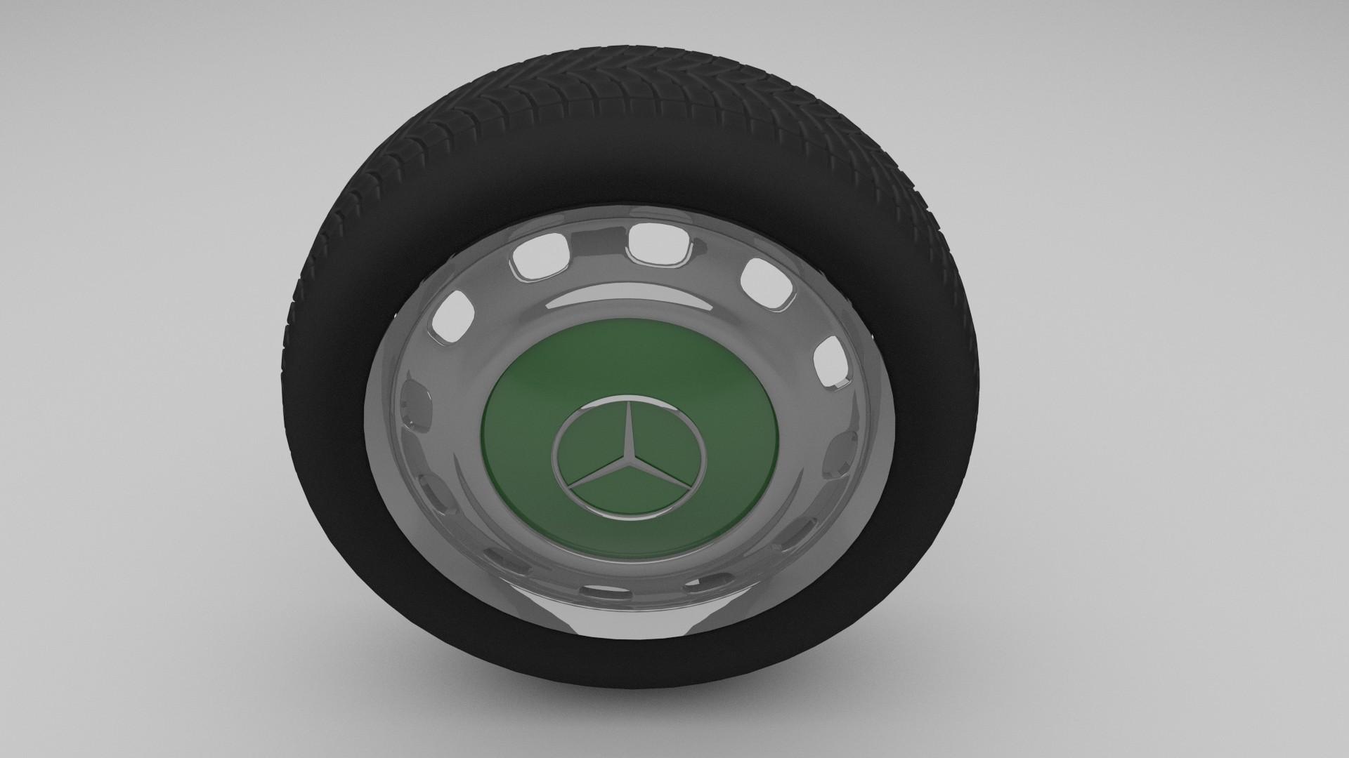 Mercedes W 123 Wheel