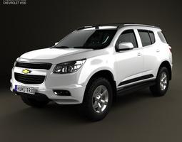 Chevrolet Trailblazer 2012 3D Model